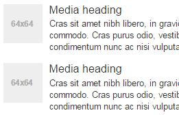 Пример медиаобъектов в Bootstrap