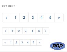 Постраничное разбиение на PHP