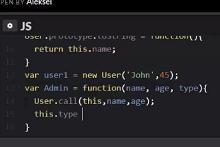 Конструкторы и классы в JavaScript