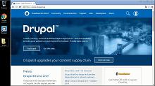 Установка Drupal CMS