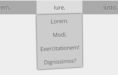 Качающееся CSS меню
